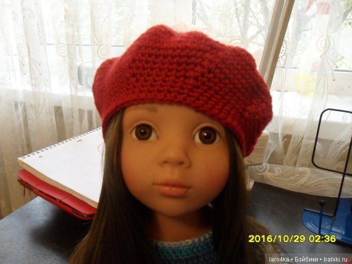 Берет.Основы вязания / Мастер-классы, творческая мастерская: уроки, схемы, выкройки для кукол, своими руками / Бэйбики. Куклы фото. Одежда для кукол
