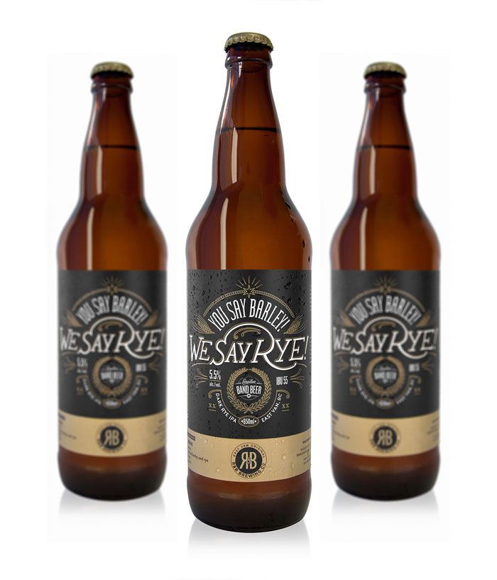 label / band beer