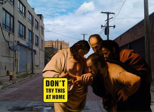 """""""Don't try this @ home""""#1 #bisha #bishadesign #pop #art #2015"""