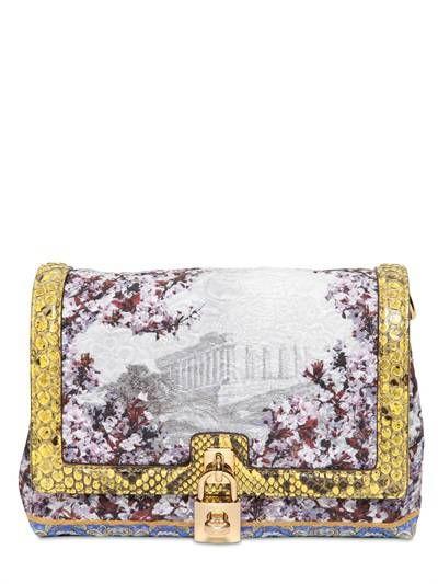 DOLCE & GABBANA - BROCADED DOLCE BAG - Dolce & Gabbana