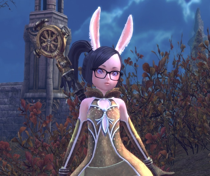 Tera ingame claim on my Elin priest