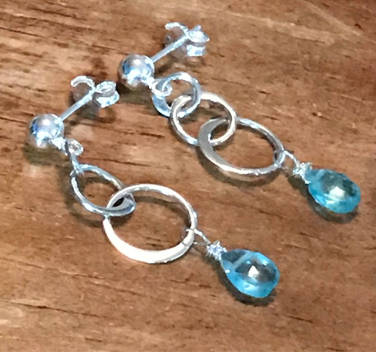 A personal favorite from my Etsy shop https://www.etsy.com/listing/561258235/sky-blue-earrings-faceted-apatite
