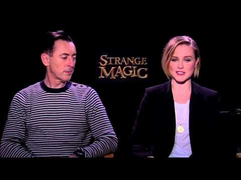"Strange Magic: Alan Cumming ""Bog King"" & Evan Rachel Wood ""Marianne"" Int..."