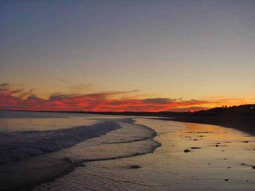 #paisajes #olas #atardeceres