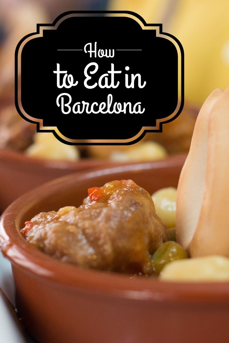 Check out the five ways to eat in Barcelona Spain.                                                                                                                                                                                 More