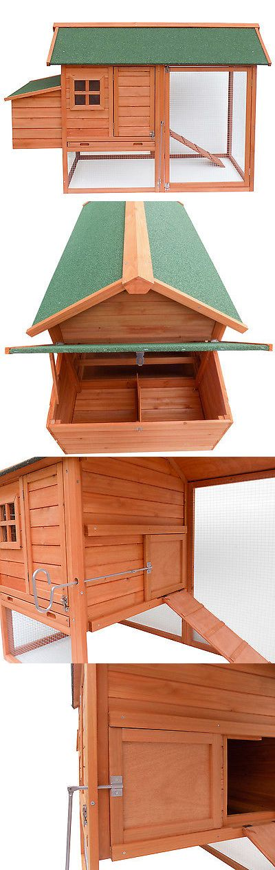 Backyard Poultry Supplies 177801: Merax Wooden Pet House Rabbit Bunny Wood Hutch House Chicken Coops Chicken Cage -> BUY IT NOW ONLY: $161.69 on eBay!