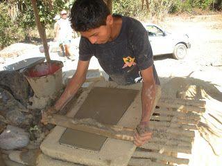 Elaboración de tejas. TURISMO Y TURISMO ALTERNATIVO: octubre 2012