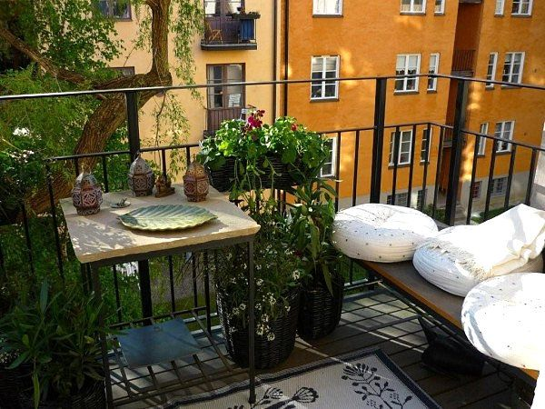 48 best images about small balcony ideas on Pinterest  Places, Balcony ideas...