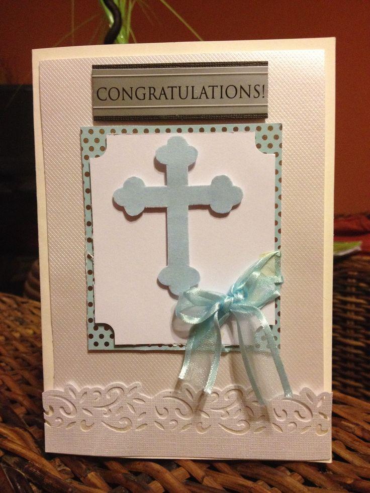 Christening card baptism cards christian cards card making