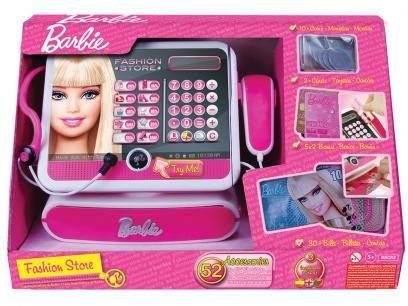 Caixa Registradora Fashion Store Barbie Luxo - Fun com as melhores condições…