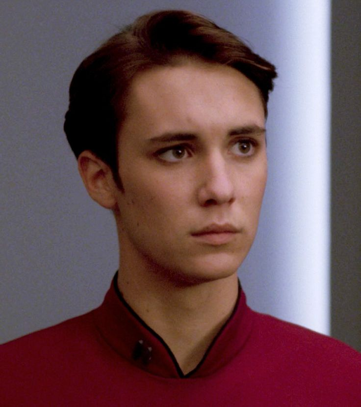 Wil Wheaton * 1972 (Cadet Wesley Crusher) TNG