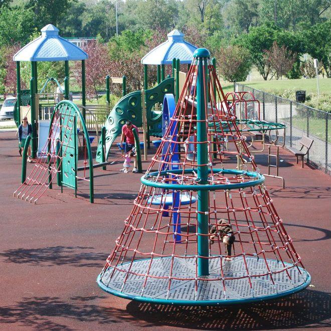 Pin Op Playground Equipment
