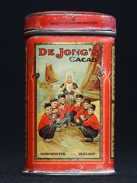 Vintage Dutch tin