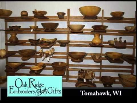 Tomahawk Wisconsin's Oak Ridge Embroidery and Gifts On Our Story's The T...