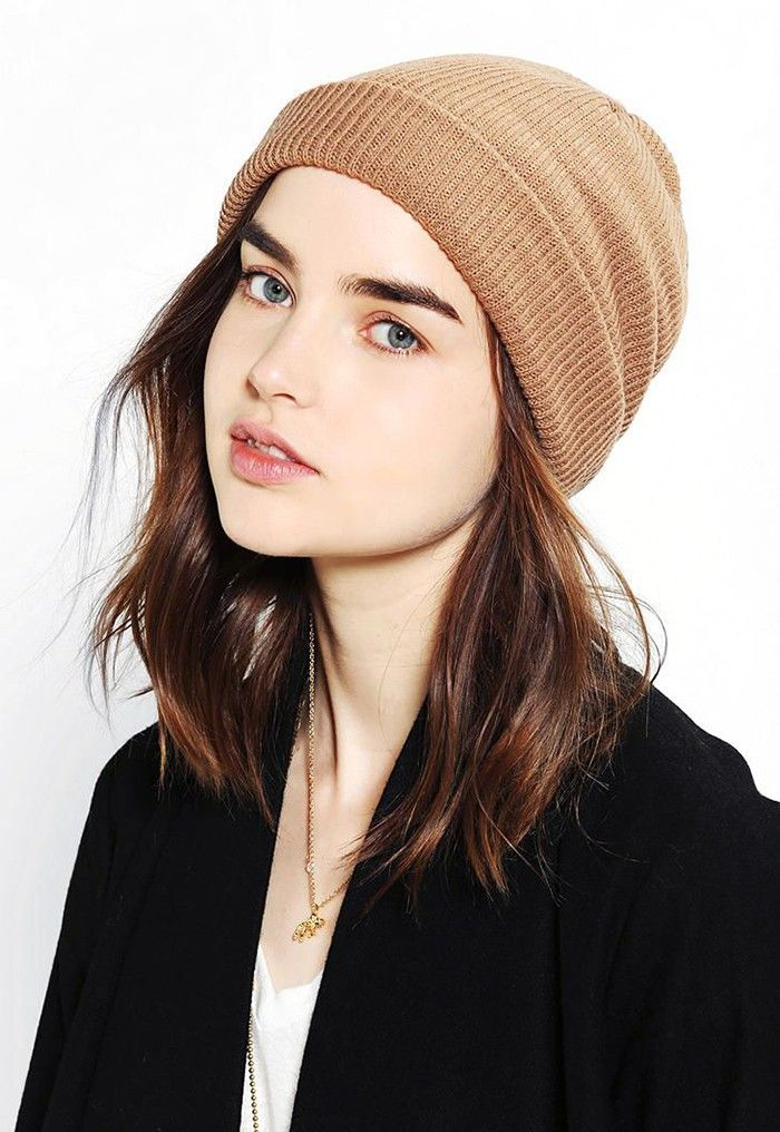 Try these seven hairstyles for hats to get you through winter. See them all here...