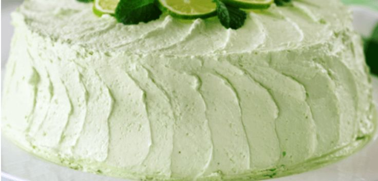 The first time I had a lime cake was at my sister's bridal shower. My cousin Jean is a wonderful cake baker and we asked her if she'd whip up her famous desserts for the