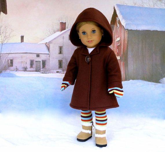 144 best american girl doll coats hooded images on Pinterest ...
