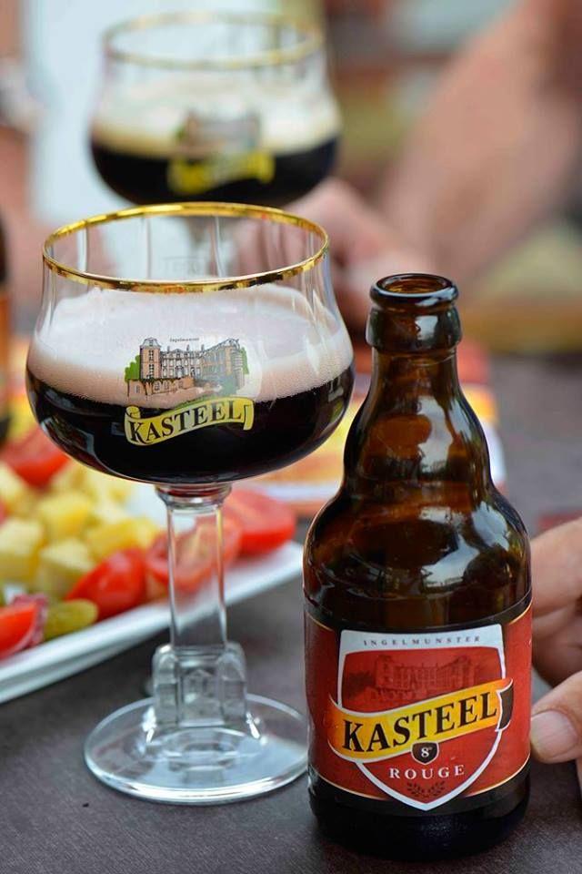 Kasteelbier Rouge Brouweij Van Hansbrouck Ingelmunster Belgie.