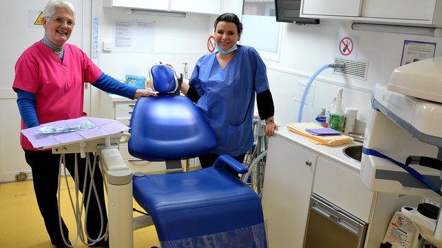 16/12/14. Pays d'Aix : Un cabinet dentaire mobile pour les personnes handicapées