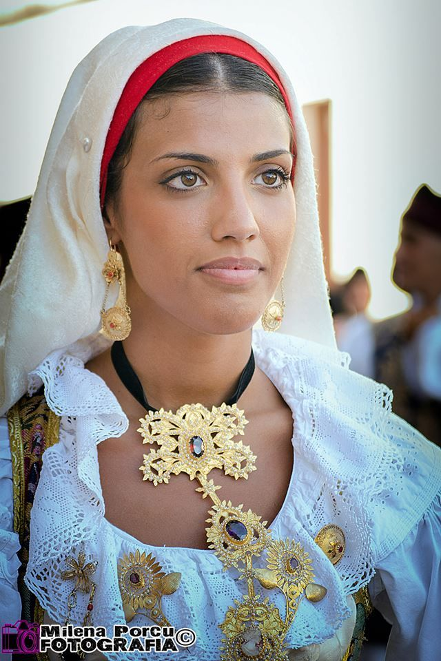 "Traditional Sardinian wedding known as ""Mauritanian"" or ""Maurreddus"" celebrated in the #Iglesiente region, south west #Sardinia Matrimonio Mauritano"