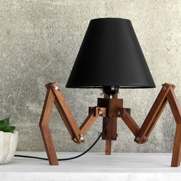 Tripod Character Table Lamp From Apollo Box Unique Table Lamps Cool Table Lamps Lamp Design