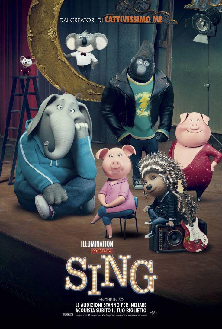 Sing, il film d'animazione di Garth Jennings, dal 4 gennaio 2017 al cinema.