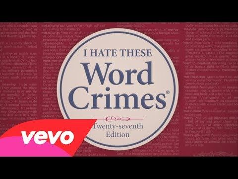 Weird Al Yankovic - Word Crimes (parody of Blurred Lines) / I love this!