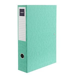 $9.98, View more details for J.Burrows Foolscap Pressboard Box File Green