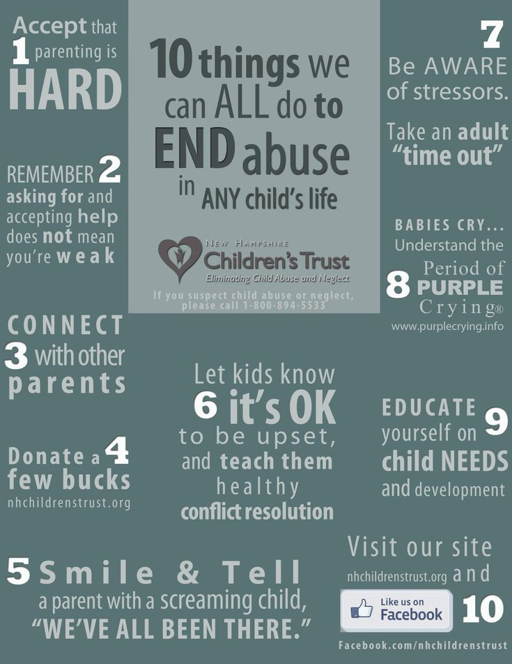 10 things WE ALL can do to end child abuse