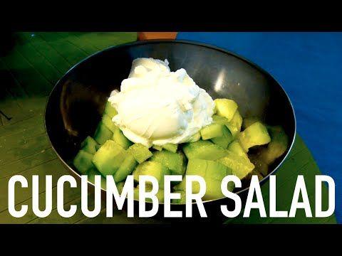 Cucumber Salad - YouTube