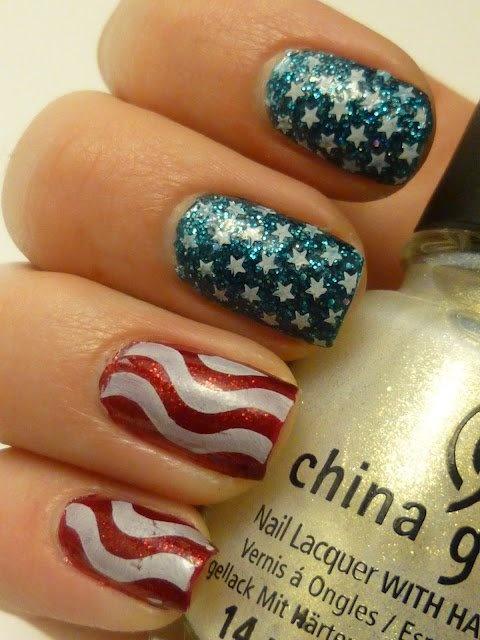 #Nails by: Gina Archer #JulepOlympics