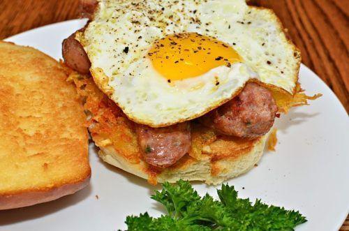 huevo frito microondas