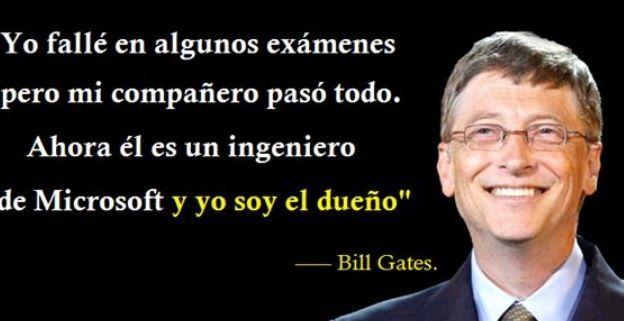 Resultado De Imagen Para Bill Gates Universidad Frase Bill