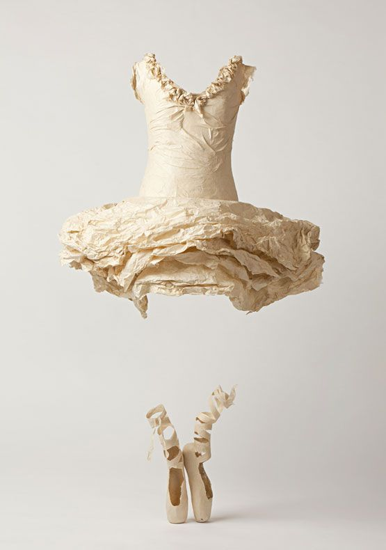 "Negative Space / Designed Objects / Susan Cutts . . . the absence of a ""wearer"" in this work is quite effective in its presentation/focus on the material and dress itself."