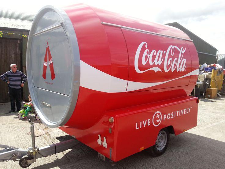 Coca Cola catering Trailer branding