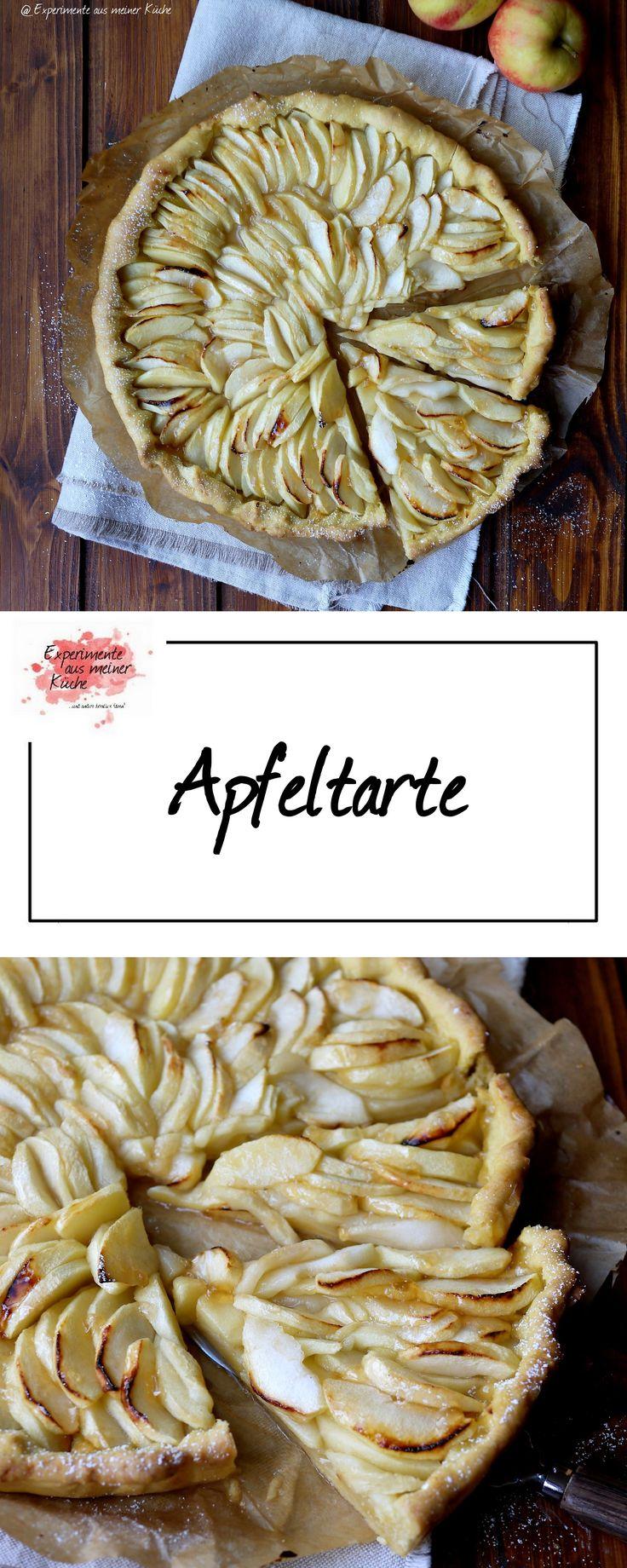 Apfeltarte | Kuchen | Backen | Rezept