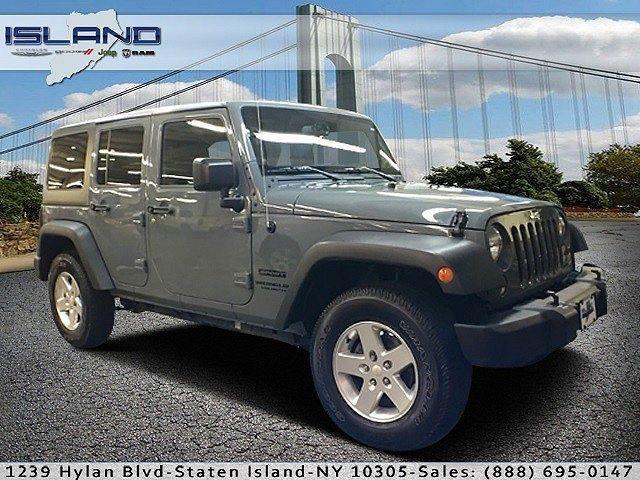 1C4HJWDG6EL294892 | 2014 Jeep Wrangler Sport for sale in Staten Island, NY