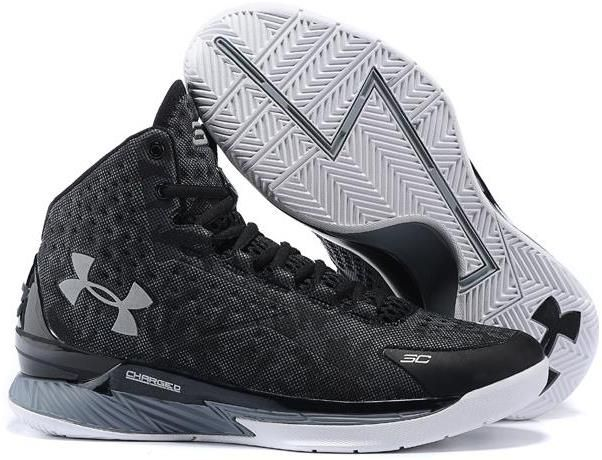 Best Drop Shipping Under Armour UA Curry 1 Mens Basketball Shoes Black purple and g