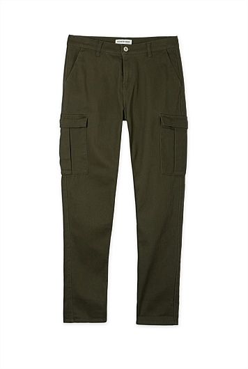 Cotton Drill Cargo Pant