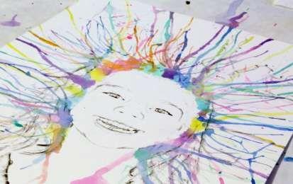 Lavoretti con acquerelli per bambini - Lavoretto fai da te