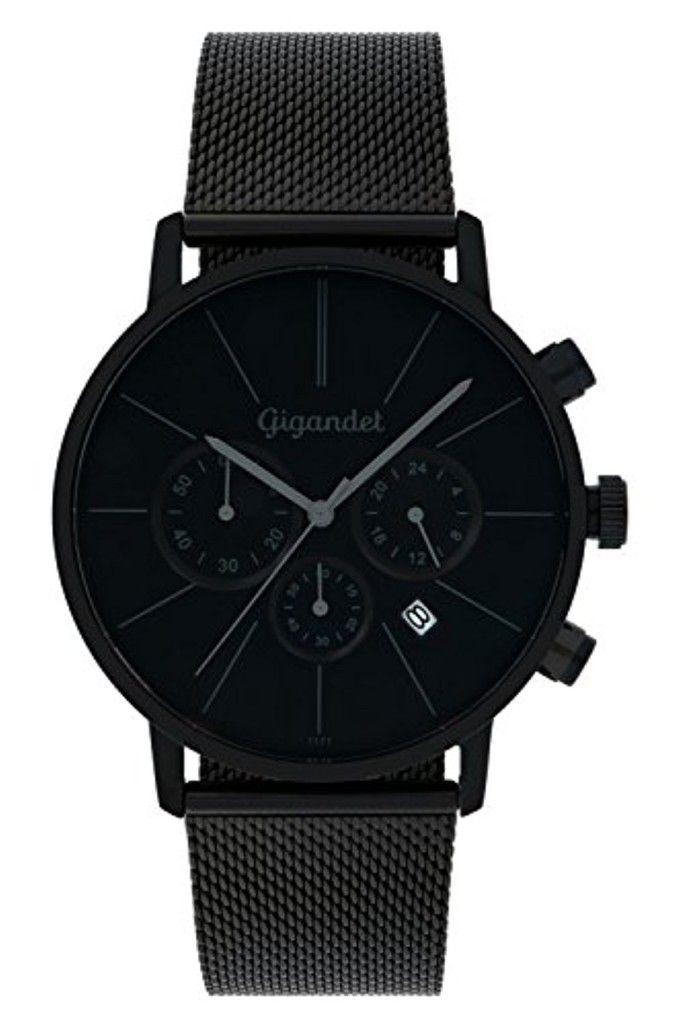 Gigandet Minimalism Montre Homme Chronographe Analogique Quartz Noir G32-008 2017 #2017, #Montresbracelet http://montre-luxe-homme.fr/gigandet-minimalism-montre-homme-chronographe-analogique-quartz-noir-g32-008-2017/