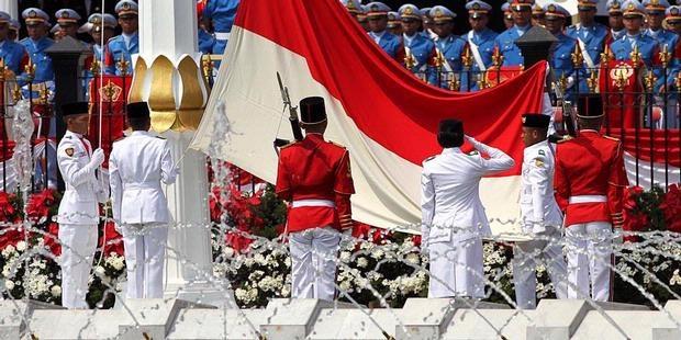 Upacara Bendera 17 Agustus 2012 di Istana Merdeka - KOMPAS.com #merdeka