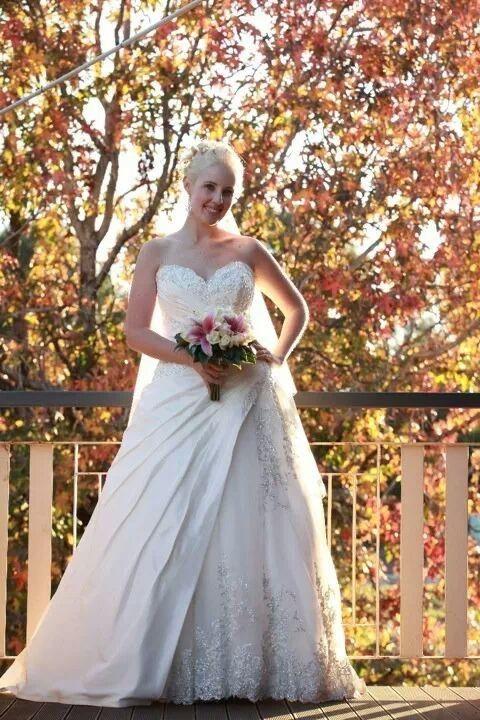 Rina Di Montella, RB1707 Tulle Size 12 Wedding Dress For Sale   Still White Australia