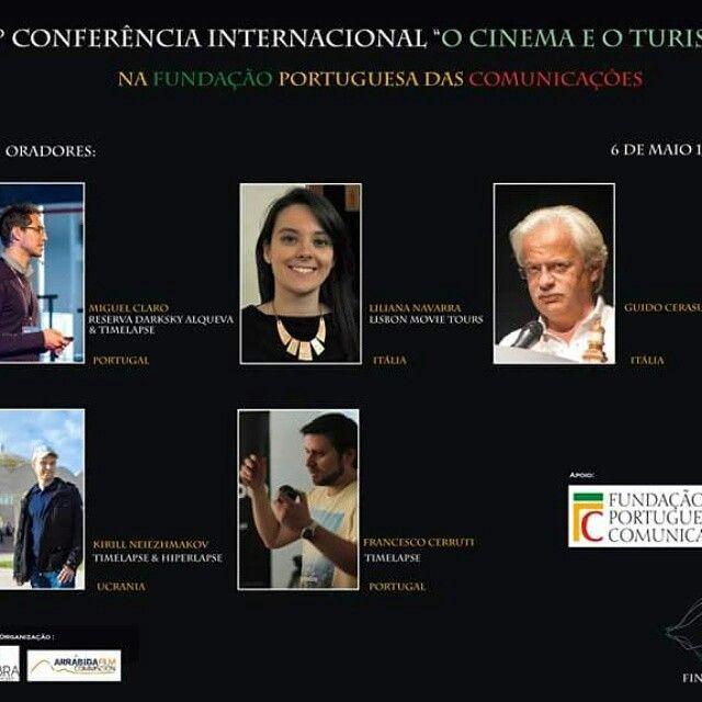 Amanhã, pelas 17:30 a conhecida blogger Liliana Navarra, do blog Lilly's lifestyle irá fazer uma apresentação sobre o filme turistico Lisbon Movie Tours. na fundação Portuguesa das Comunicações.