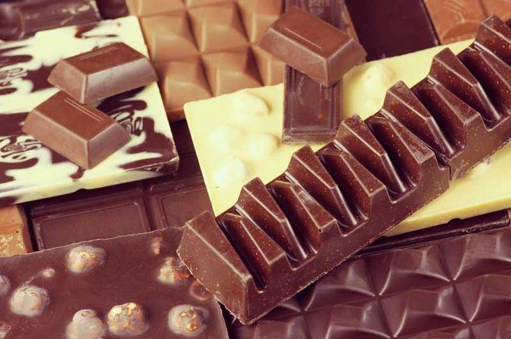 Schokoladenreste-Schokolade
