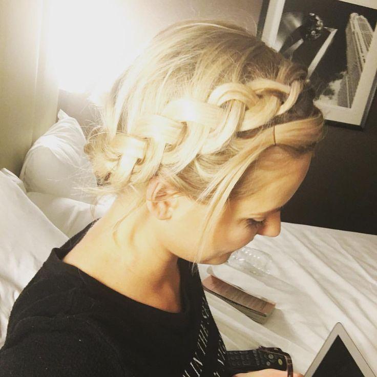Big braid style