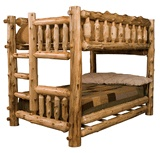 Cedar Log Bedroom Furniture, I need this for my kids to match mine :)  hailey and brycens rooms