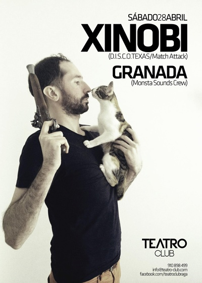 Flyer 'XINOBI' @ Teatro Club