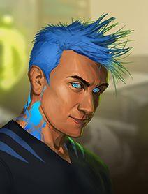 Human Male Shadowrunners  Portraits from Shadowrun Returns and Shadowrun Dragonfall. Shadowrun Portrait Posts