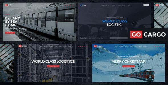 Introducing GoCargo the best premium website template for Freight, Logistics & Transportation. GoCargo is easy to use, it provides everything you need to create great looking website. With GoCargo you can impress your customer by it's professional design and the interactivity. GoCargo built with latest website technology to ensure your website is looks nice on desktop and mobile. Get GoCargo now!